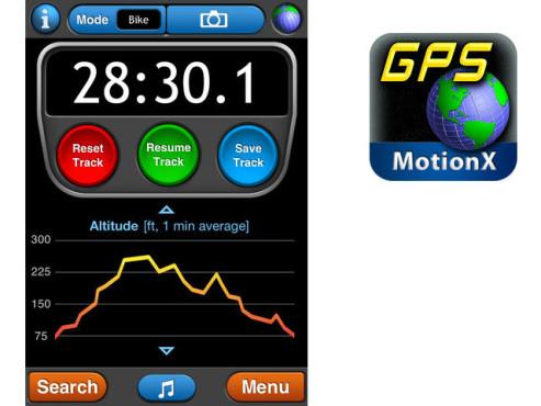 MotionX GPS ©MotionX™
