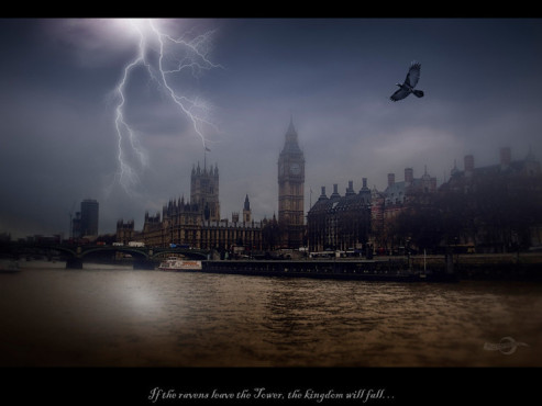 If the Ravens Leave the Tower – von: Photofreaks ©Photofreaks