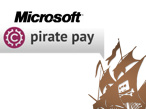 Pirate Pay sagt illegalen Downloads den Kampf an. © Microsoft / Pirate Pay / Pirate Bay
