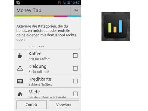 Money Tab © Talionis Software