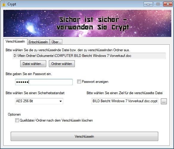 Screenshot 1 - Crypt