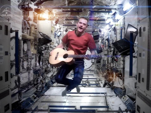 Space Oddity © NASA, Chris Hadfield