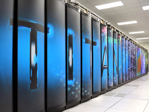 Supercomputer Titan © Oak Ridge National Laboratory