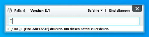 Screenshot 1 - ExBox!