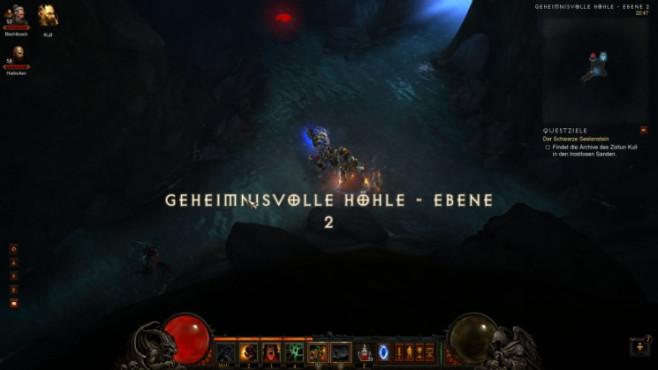 Diablo 3: Geheimnisvolle Höhle Ebene 2 ©Blizzard