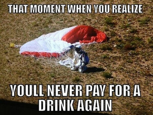 Red Bull Stratos © http://knowyourmeme.com/memes/events/red-bull-stratos-felix-baumgartners-jump/photos