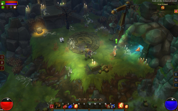 Rollenspiel Torchlight 2: Dungeoneingang © Runic Games