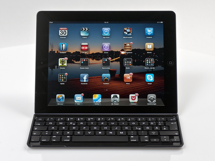test logitech ultrathin keyboard cover f r das ipad. Black Bedroom Furniture Sets. Home Design Ideas