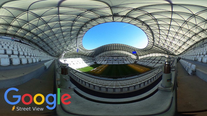 EM-Stadien mit Google Streetview erkunden © Google, Shaun Botterill / getty images