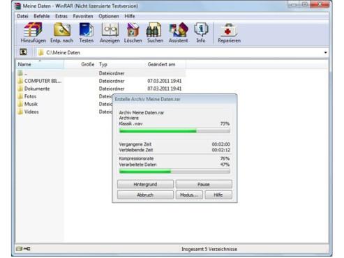 WinRAR (32 Bit) ©COMPUTER BILD
