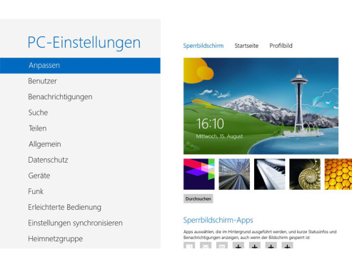 Microsoft: Window 8 Release Preview © COMPUTER BILD