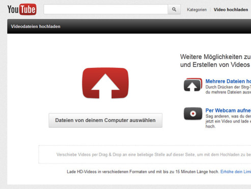 Riesiges Videoarchiv ©YouTube