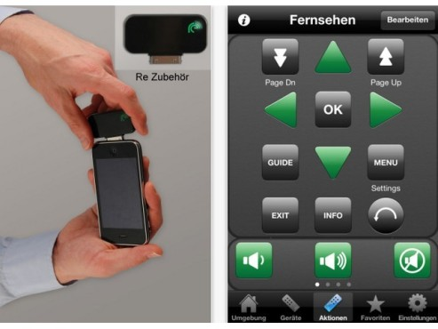 Screenshot Kinetix Re Universal Remote Control ©COMPUTER BILD
