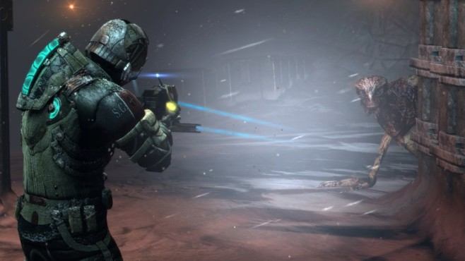 Actionspiel Dead Space 3: Waffe ©Electronic Arts