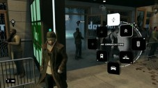 Actionspiel Watch Dogs: Ringemenü © Ubisoft
