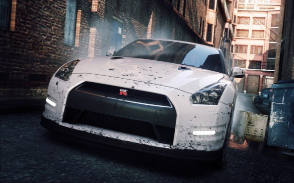Rennspiel NfS – Most Wanted: Weißer Riese © Electronic Arts
