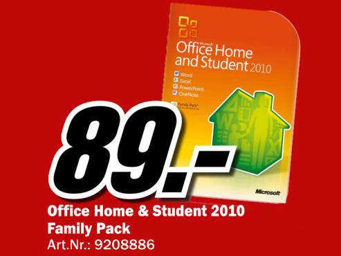 Microsoft Office 2011 Home And Student (Mac) (DE) © Media Markt