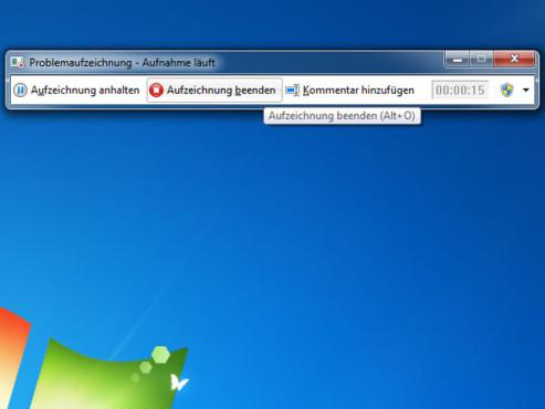 Windows-Probleme aufzeichnen ©Microsoft