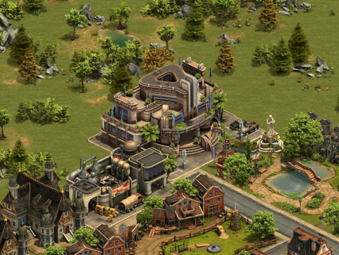 Forge of Empires: Moderne © InnoGames