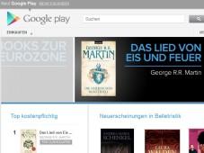 Google Books: Bücherverkauf in Deutschland gestartet Für Leseratten: Google Books bietet eine große Auswahl an Klassikern und Bestsellern.©Google