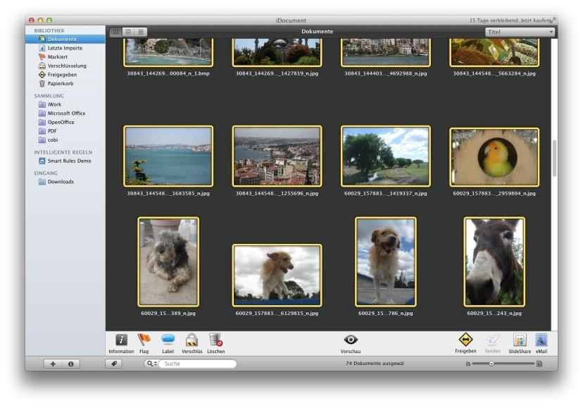 Screenshot 1 - iDocument (Mac)