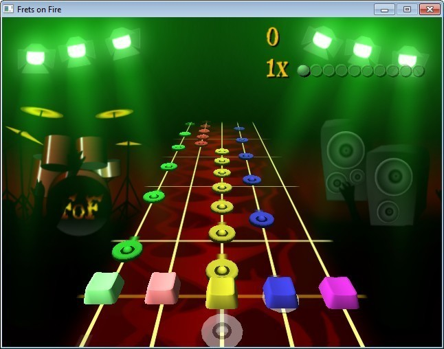 Screenshot 1 - Frets on Fire Portable