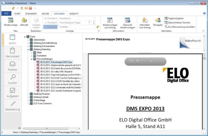 Screenshot 1 - ELOoffice