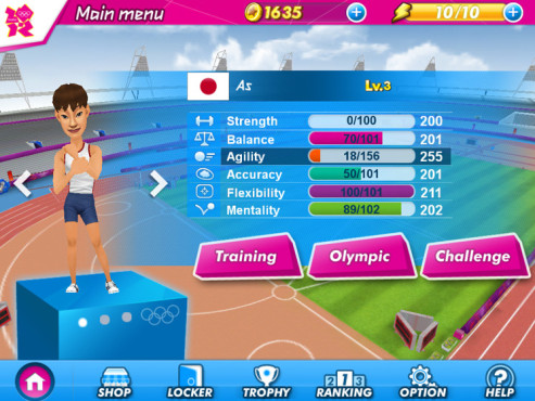 London 2012 – Official Mobile Game ©Neowiz Internet Corp.