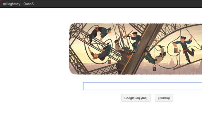 Google: Jetzt auch in Klingonisch ©Google, COMPUTER BILD