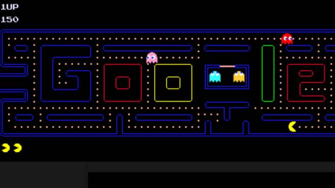 Google: Spielen Sie Pac-Man ©Google, COMPUTER BILD