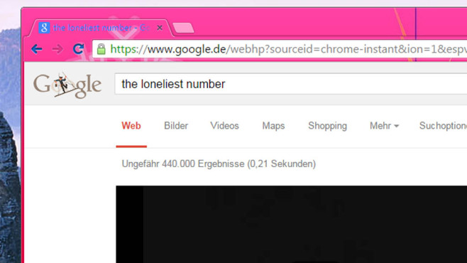Google: The Loneliest Number © COMPUTER BILD