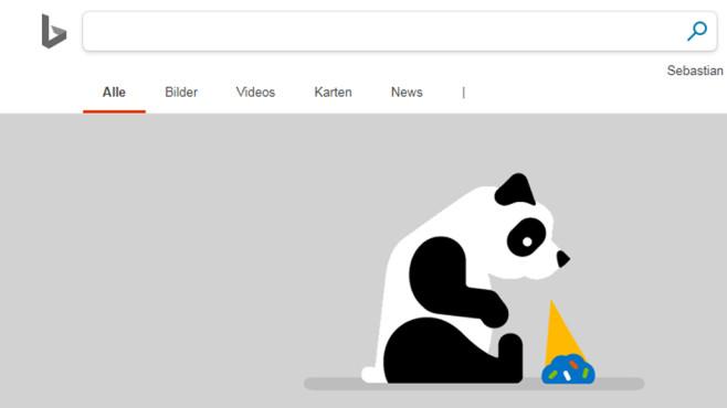 Microsoft: Fehlermeldungen mit Panda ©COMPUTER BILD