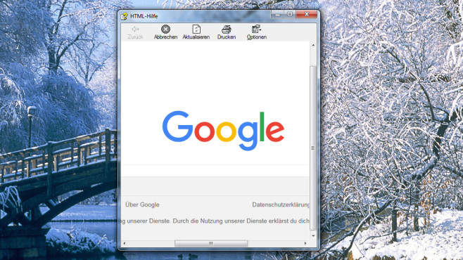 Surfen per HTML-Hilfe ©COMPUTER BILD