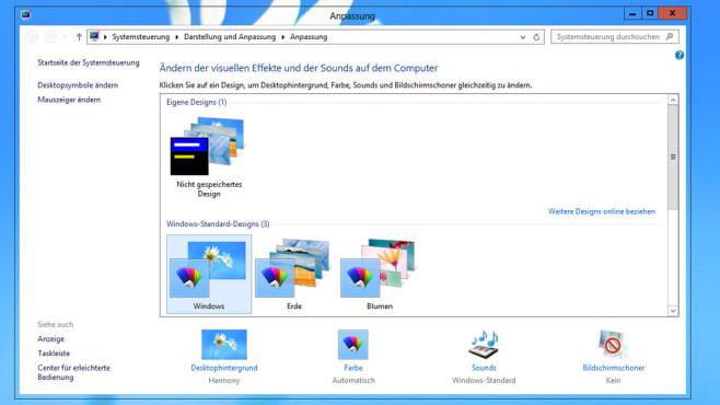 Windows 8: Transparente Fenster ©COMPUTER BILD