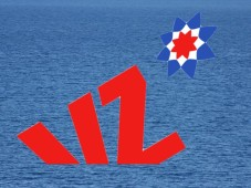 VZ-Netzwerke-Logo versinkt im Meer©VZnet/Montage: COMPUTER BILD