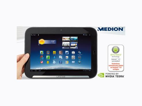 Medion Lifetab P9516 Tablet-PC (erhältlich bei Aldi Süd) ©Aldi Süd