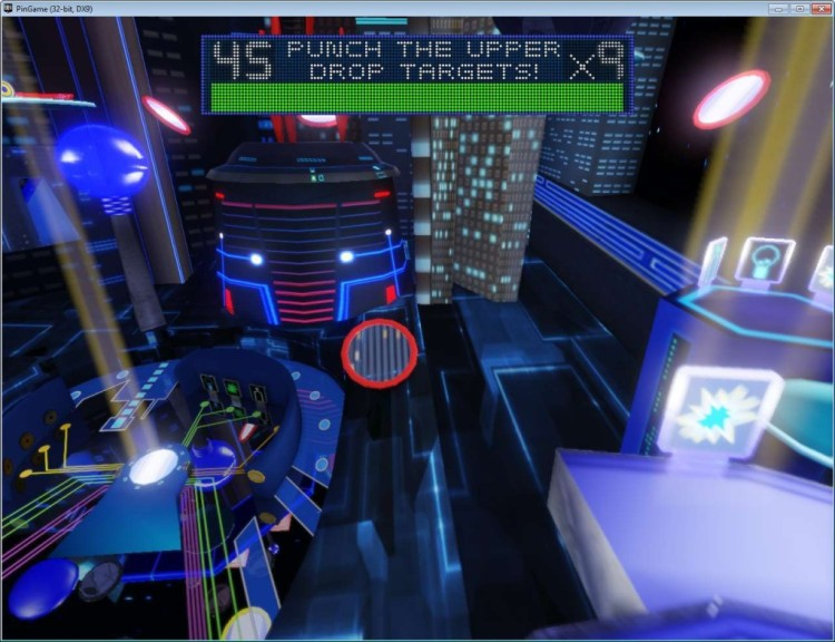 Screenshot 1 - Robot Pinball Escape