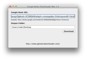 Google Books Downloader (Mac)