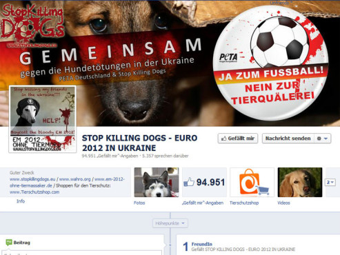 Stop Killing Dogs © Stop Killing Dogs Facebook