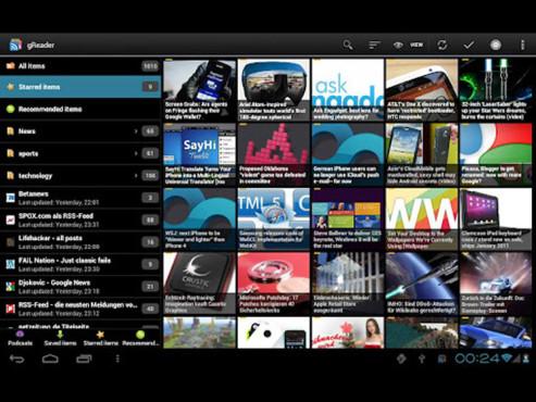Screenshot gReader für Android ©COMPUTER BILD
