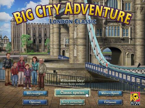 Big City Adventure: London Classic ©Intenium
