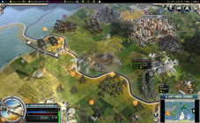 Strategiespiel Civilization 5: Stadt©2K Games
