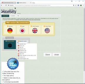 Stealthy für Chrome