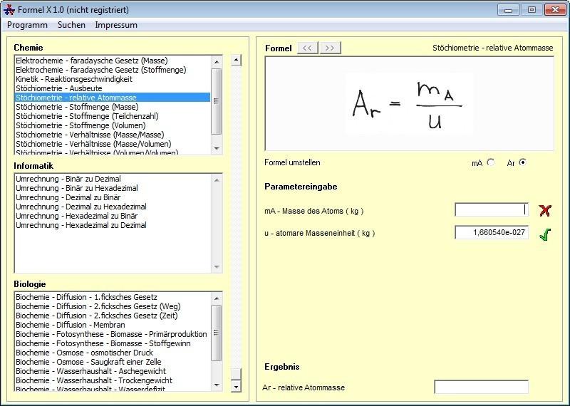 Screenshot 1 - Formel X