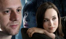 Collage: David Cage und Ellen Page©Sony