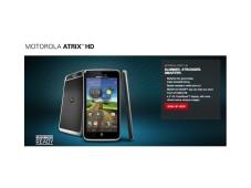 Motorola stellt das Atrix HD versehentlich vor Screenshot: Das Motorola Atrix HD war kurzzeitig auf der Hersteller-Webseite zu sehen.©Motorola