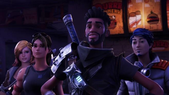Fortnite: Die Festung darf nicht fallen! Fortnite: Nur mit Teamwork führen Sie Ihre Helden durch den Sturm.©Epic Games