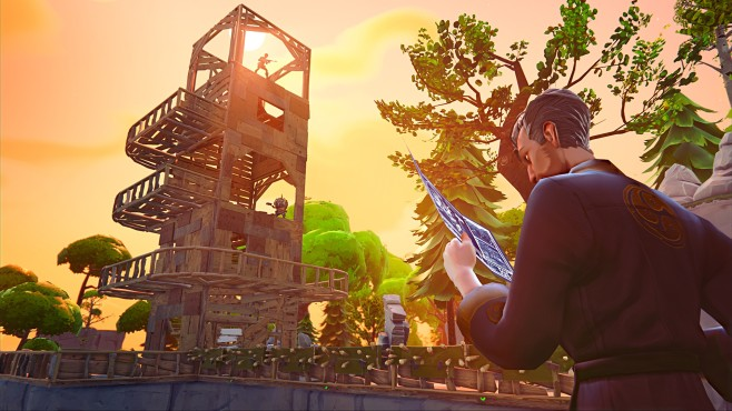 Actionspiel Fortnite: Turm © Epic Games