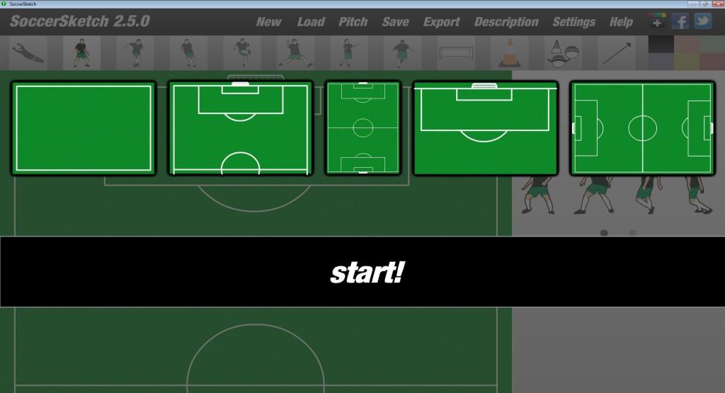 Screenshot 1 - SoccerSketch