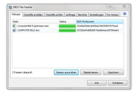 MD5 File Hasher